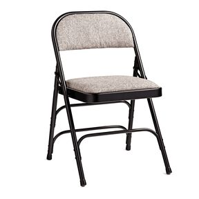 Samsonite 2900 Series Fabric Padded Chair (Case/4) in the color Black/Neutral.