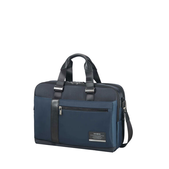 Samsonite Openroad Laptop Brief - Expandable in the color Space Blue.