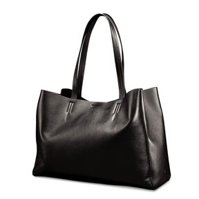 Samsonite Business Leather Tote in the color Black.