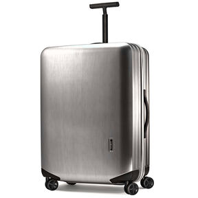 "Samsonite Inova 30"" Spinner in the color Metallic Silver."