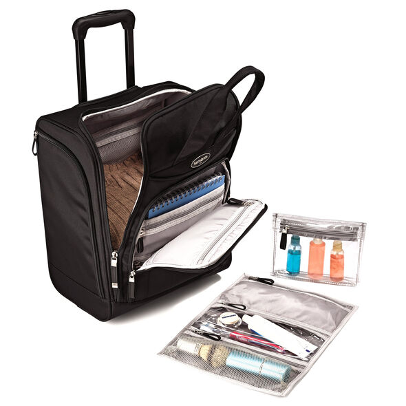 Samsonite Large Rolling Underseater in the color Black.