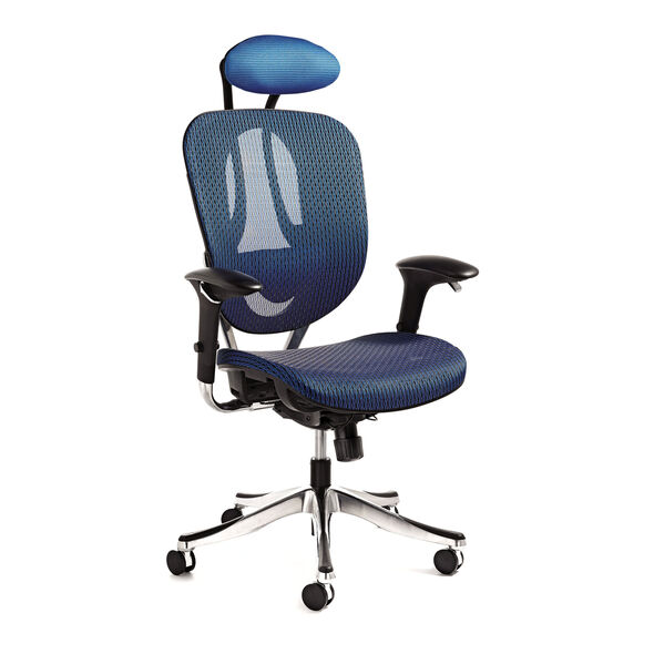 Samsonite Zurich Mesh Office Chair in the color Blue.