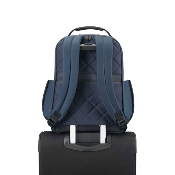 """Samsonite Openroad 14.1"""" Laptop Backpack in the color Space Blue."""