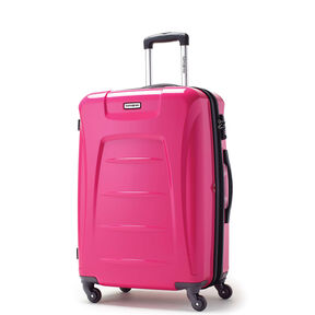 "Samsonite Momentum 28"" Hardside Spinner in the color Magenta."