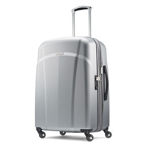 "Samsonite Hyperflex 2.0 24"" Spinner in the color Silver."