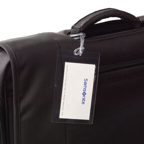 Samsonite Self Laminating Luggage ID Tags (3pk) in the color Clear.