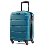 "Samsonite Omni PC 20"" Spinner in the color Carribean Blue."