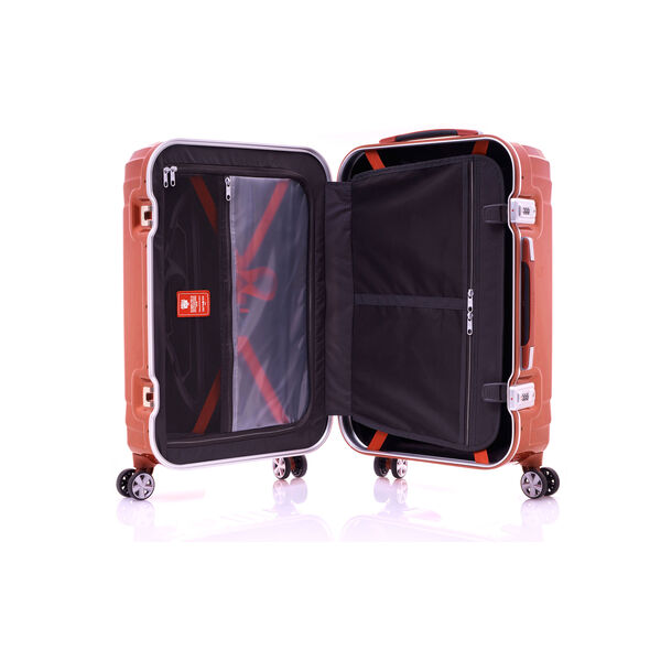 "Samsonite Tru-Frame Collection 28"" Spinner in the color Flame Orange."