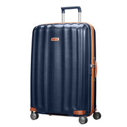 "Samsonite Black Label Lite-Cube DLX 31"" Spinner in the color Midnight Blue."