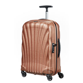 "Samsonite Black Label Cosmolite 3.0 20"" Spinner in the color Copper Blush."