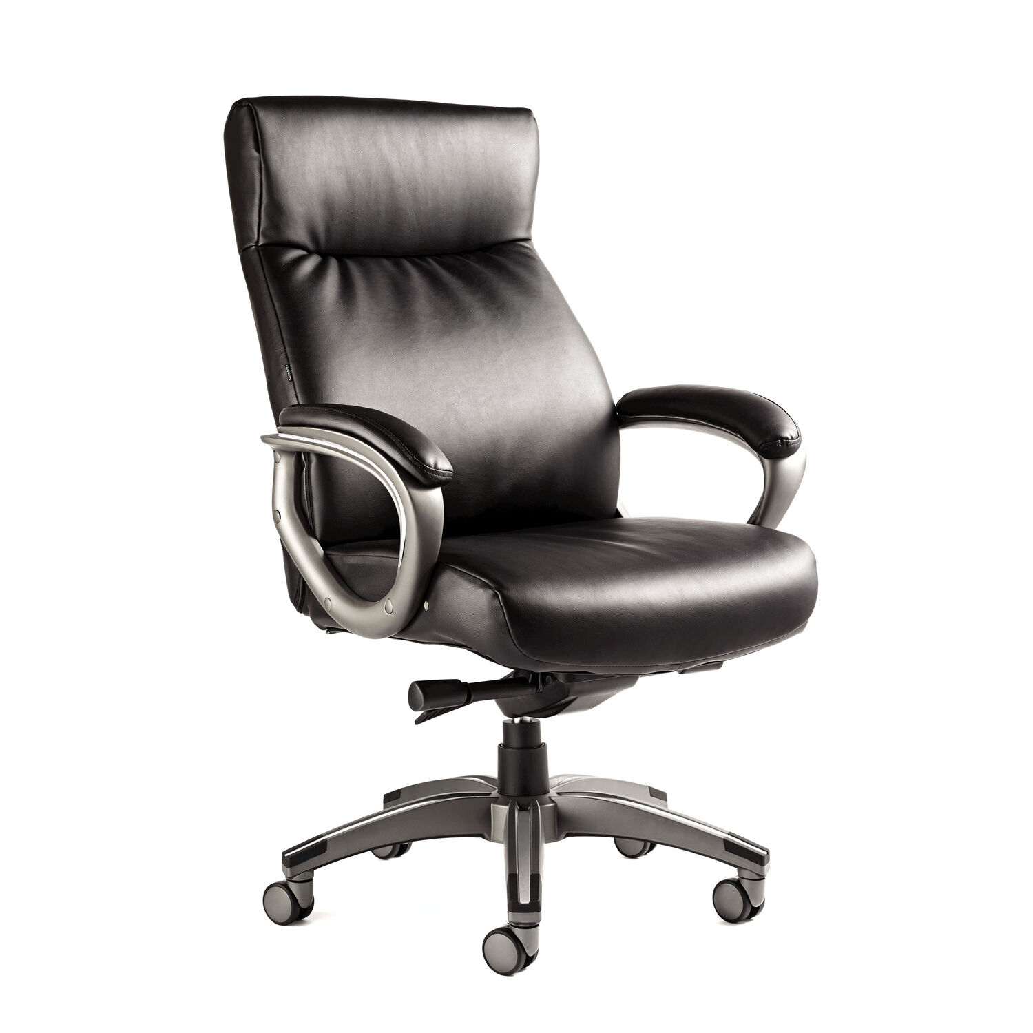 Samsonite Orleans Bonded Leather Chair in the color Black Samsonite Orleans Bonded Leather Chair. Samsonite Executive Leather Office Chair. Home Design Ideas
