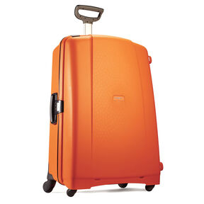 "Samsonite F'Lite GT 31"" Spinner in the color Bright Orange."