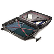 "Samsonite Black Label Firelite 20"" Spinner in the color Charcoal."