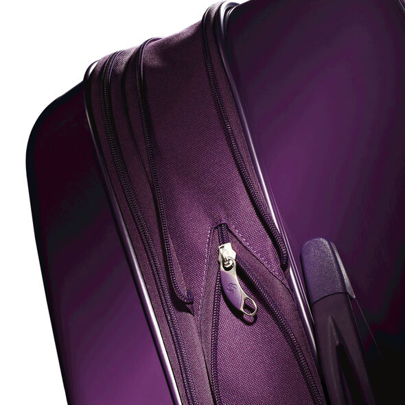 "Samsonite Sahora Brights 24"" Spinner Luggage in the color Purple."