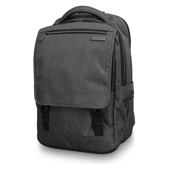 Samsonite Modern Utility Paracycle Backpack in the color Charcoal Heather/Charcoal.