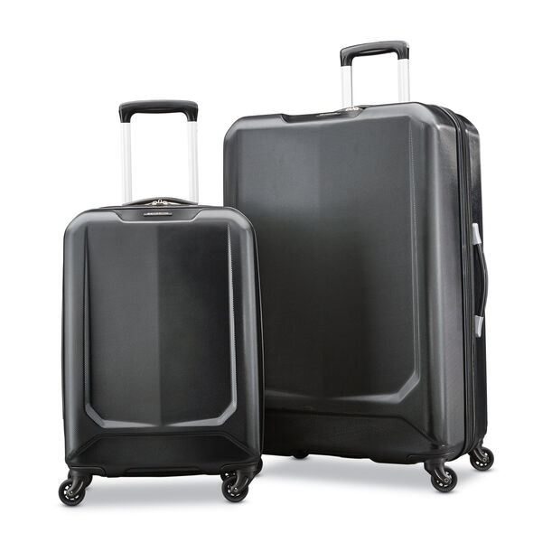 Samsonite BLX Lite 2 Piece Set in the color Black.