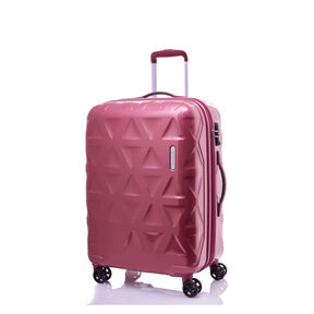 "Samsonite Novus 25"" Spinner in the color Red Bean."