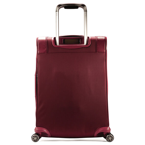 "Samsonite Silhouette XV 25"" Spinner in the color Napa Red."