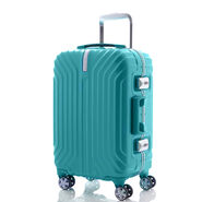 "Samsonite Tru-Frame Collection 25"" Spinner in the color Aqua Blue."