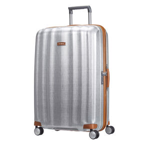 "Samsonite Black Label Lite-Cube DLX 31"" Spinner in the color Aluminum."