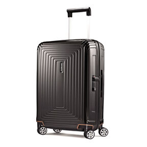 "Samsonite NeoPulse 20"" Spinner in the color Metallic Black."