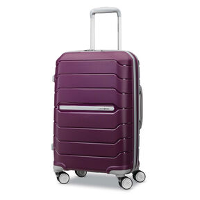 "Samsonite Freeform 21"" Spinner in the color Plum."