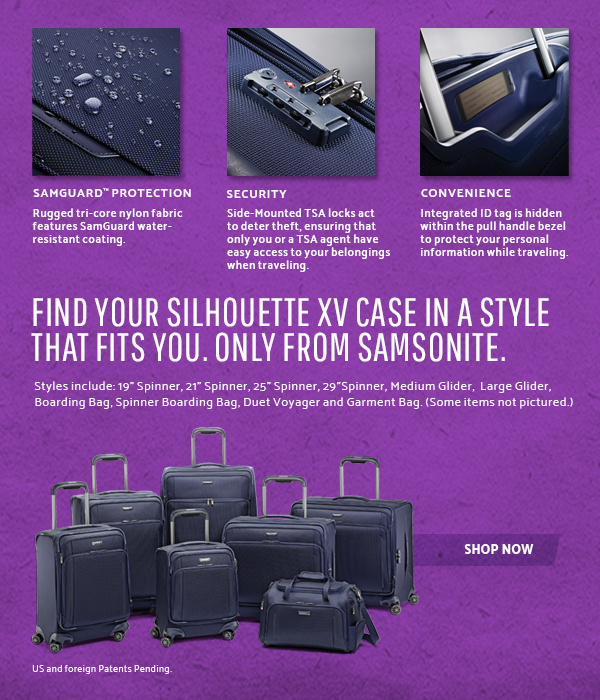 Samsonite Glider Case - This is Luggage Redefined. Shop Now.