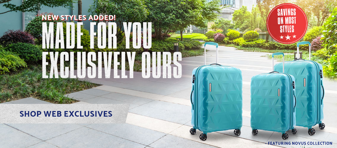 Samsonite Web Exclusives - With new styles added . Shop Now.