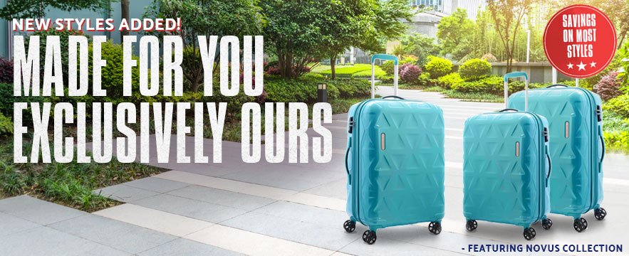 Made for You - Exclusively Ours, shop Samsonite Exclusives now..