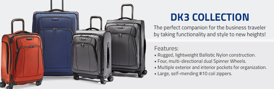 The Samsonite DK3 Collection - The perfect companion for the business traveler by taking functionality and style to new heights. Shop Now.