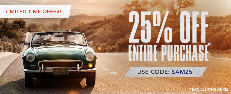 Limited Time Offer - Save 25% off Sitewide - Use Promo Code: SAVE25. Shop Now.