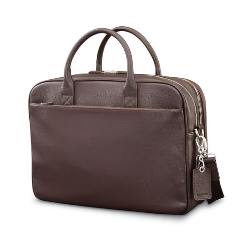 Samsonite Mens Leather Classic Double Compartment 339be673833cc