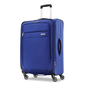 "Samsonite Advena 25"" Expandable Spinner in the color Cobalt Blue."