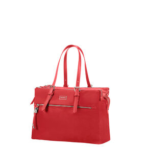 "Samsonite Karissa Biz Organized Shopper 14.1"" in the color Formula Red."