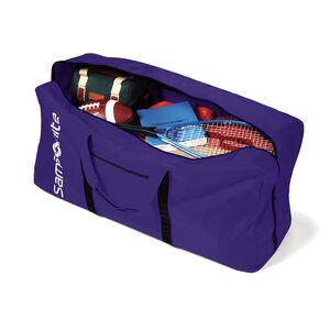 Tote-A-Ton Duffle Bag in the color Purple.