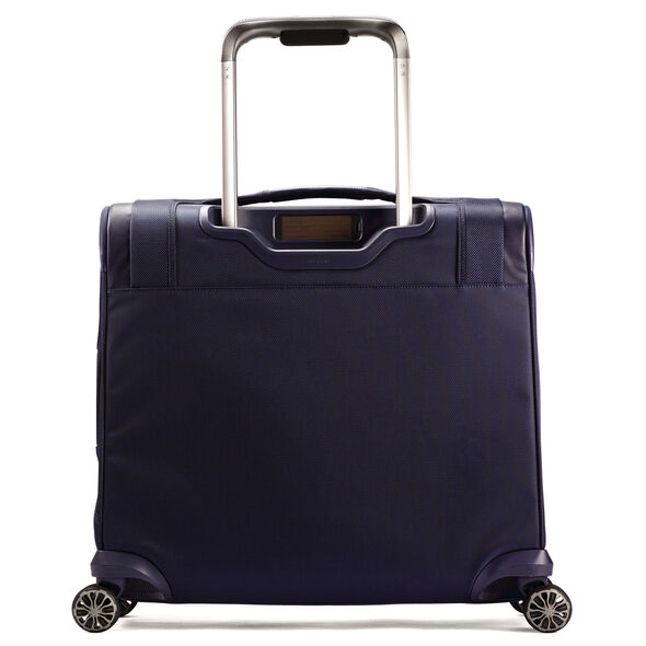 Samsonite Silhouette XV Medium Glider in the color Twilight Blue.