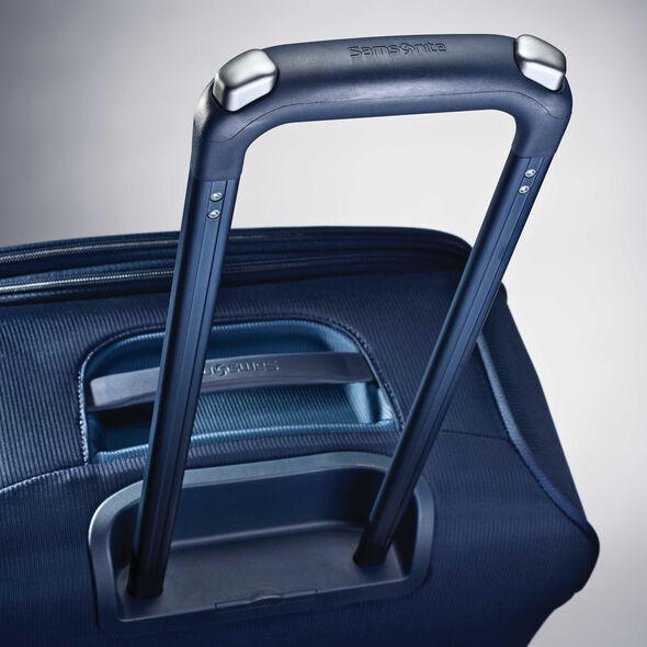 "Samsonite Flexis 21"" Spinner in the color Carbon Blue."