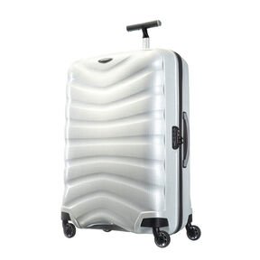 "Samsonite Black Label Firelite 30"" Spinner in the color Off White."
