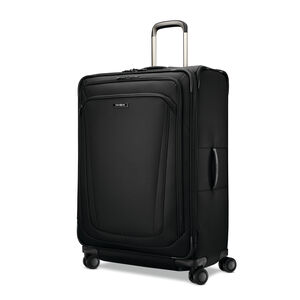"Samsonite Silhouette 16 30"" Expandable Spinner in the color Obsidian Black."