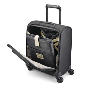 Flexis Underseater Carry-On Spinner in the color Jet Black.