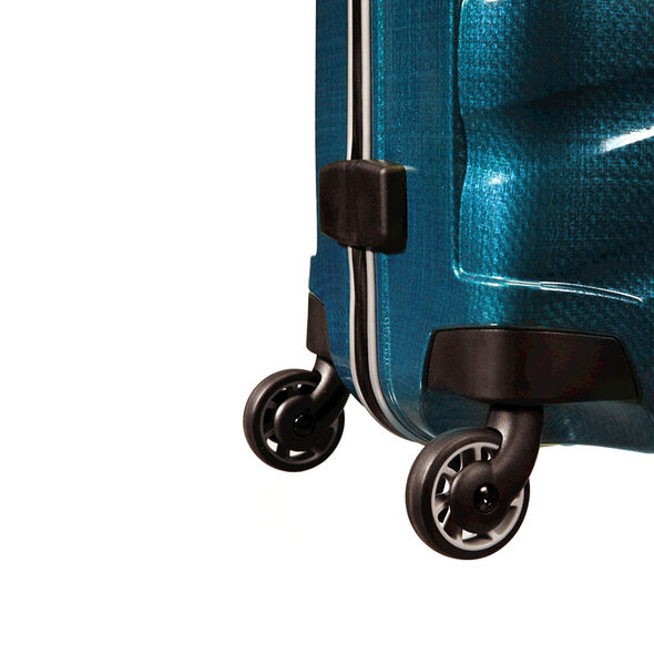 "Samsonite Black Label Firelite 30"" Spinner in the color Petrol Blue."