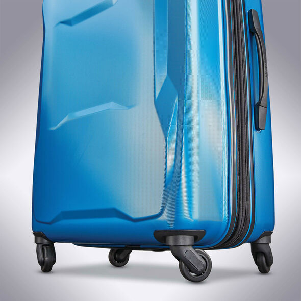 "Samsonite Pivot 20"" Spinner in the color Blue Dream."