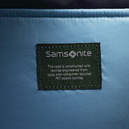 """Samsonite Eco-Nu 25"""" Expandable Spinner in the color Pacific Blue/Navy."""