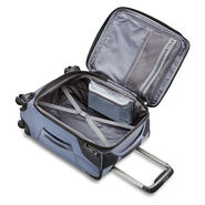 "Samsonite Armage 19"" Spinner in the color Steel Blue."
