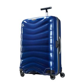 "Samsonite Firelite 28"" Spinner in the color Deep Blue."