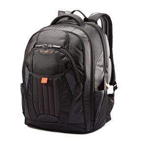 Samsonite Tectonic 2 Large Backpack in the color Black/Orange.