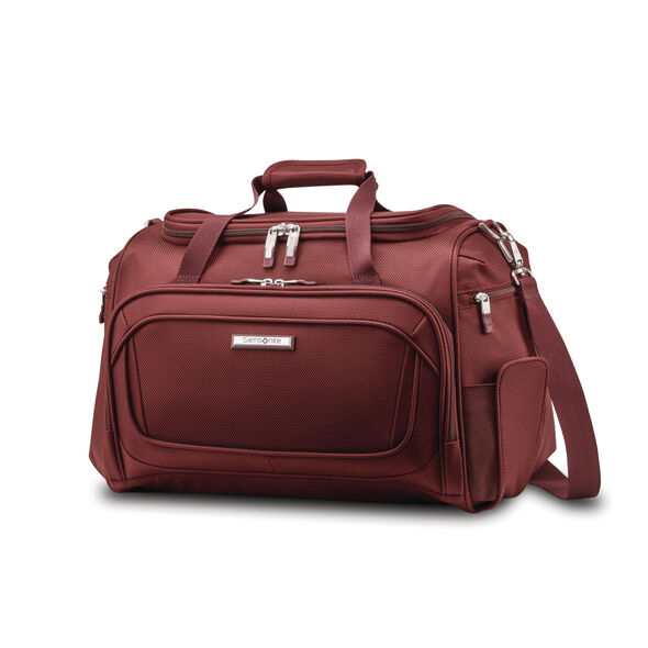 Samsonite Silhouette 16 Travel Tote in the color Cabernet Red.