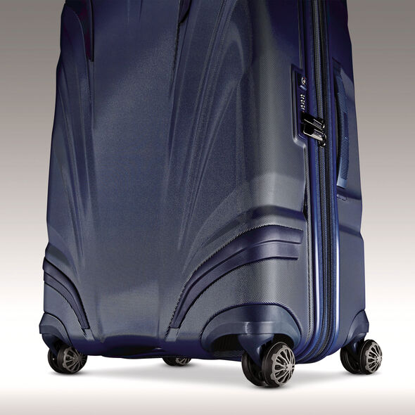 "Samsonite Silhouette XV 30"" Hardside Spinner in the color Twilight Blue."