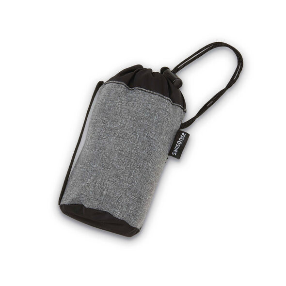 Inflatable Pillow with Pouch in the color Charcoal.