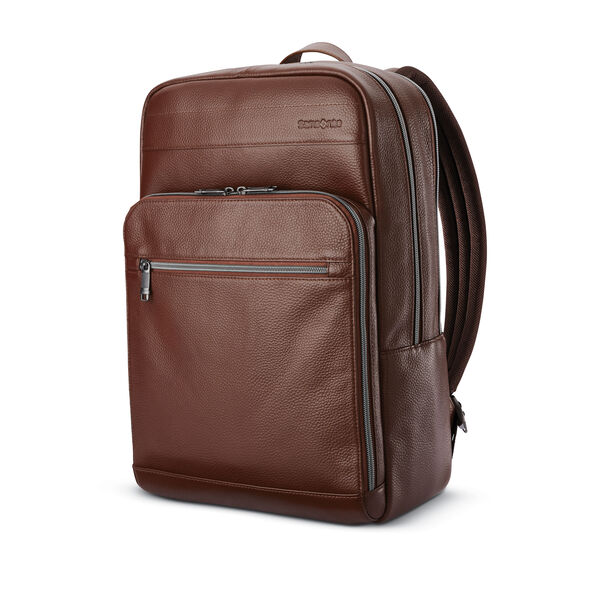 Samsonite Business Slim Backpack in the color Chestnut.